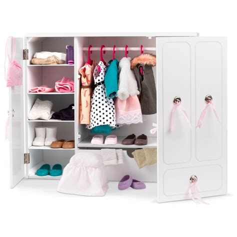 Our Generation Wooden Doll Wardrobe