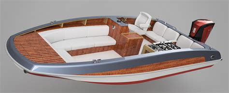 Outboard Deck Boat Plans