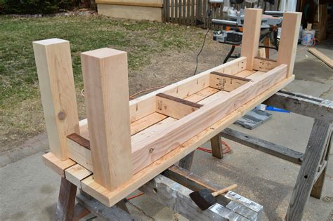 Outdoor Bench Building Plans Easy