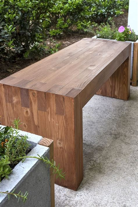 Outdoor Bench Designs Plans