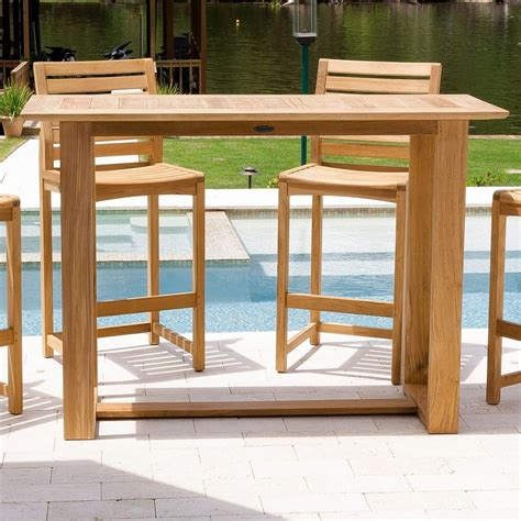 Outdoor Bistro Table Plans