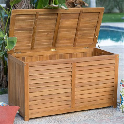 Outdoor Box With Hinged Lid Plans For Retirement