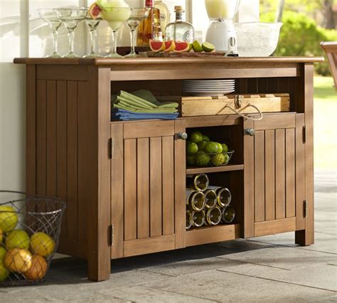 Outdoor Buffet Cabinet Diy