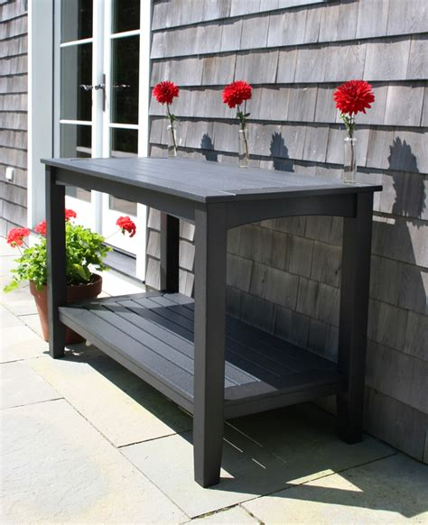 Outdoor Buffet Table Plastic