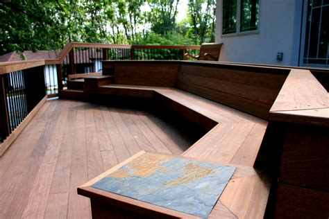 Outdoor Built In Bench Plans