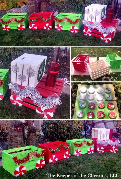 Outdoor Christmas DIY Decoration Projects