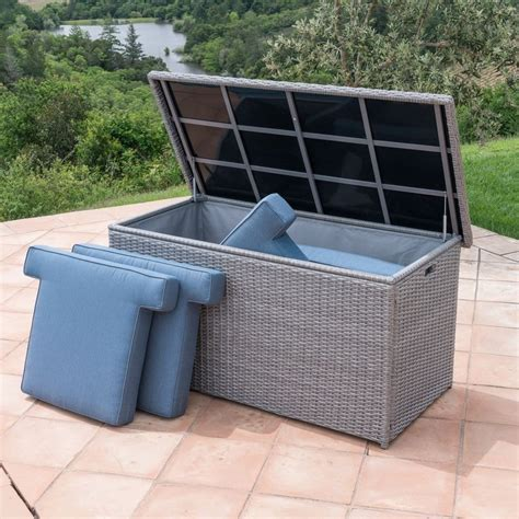 Outdoor Cushion Storage Box Plans