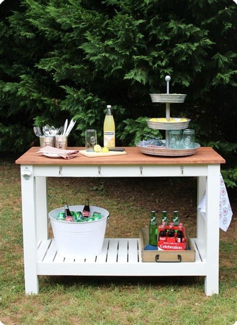 Outdoor Diy Buffet Plans