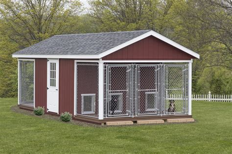 Outdoor Dog Kennel Building