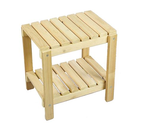 Outdoor End Tables Plans