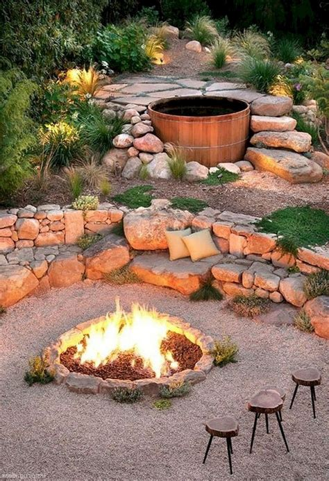 Outdoor Fire Pit Building Plans