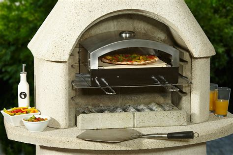 Outdoor Fireplace Pizza Oven Insert