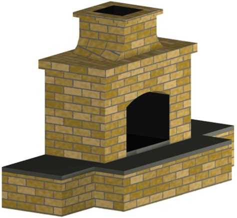 Outdoor Fireplace Plans And Material List