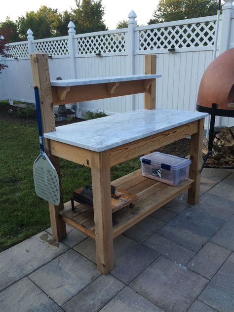 Outdoor Food Prep Table Diy