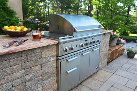 Outdoor Grilling Station Plans