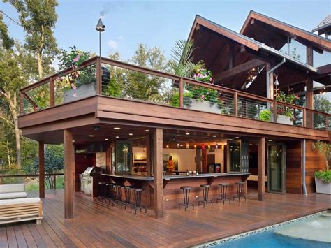 Outdoor Home Bar Plans