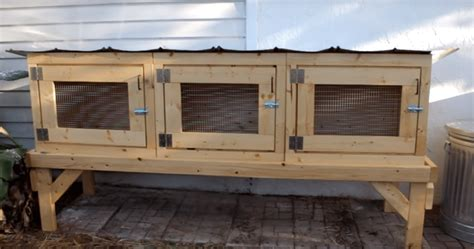Outdoor Hutches Free Rabbit Hutch Plans