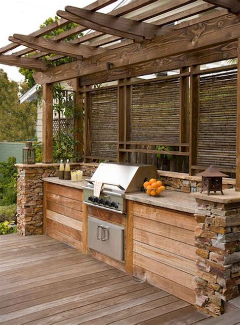 Outdoor Kitchen Ideas Roof Design