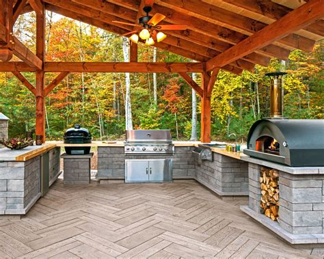Outdoor Kitchen Plans And Material List