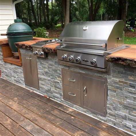 Outdoor Kitchen Plans With Big Green Egg