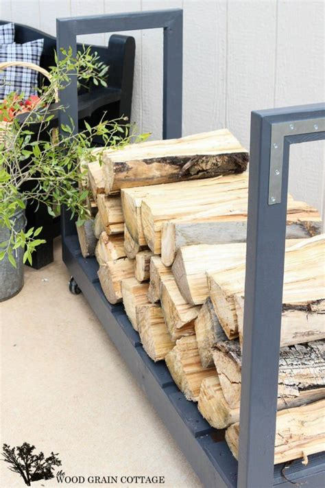 Outdoor Lumber Storage Rack Diy
