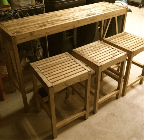 Outdoor Patio Bar Stool Plans