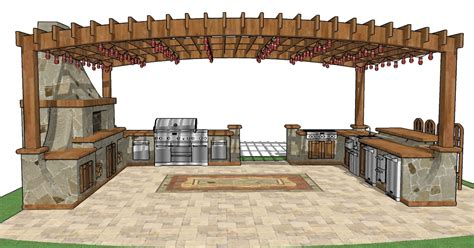 Outdoor Pavilion Construction Plans