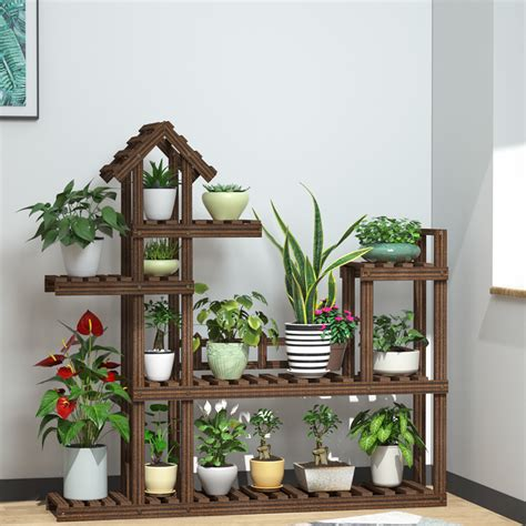 Outdoor Pedestal Stand For Plants
