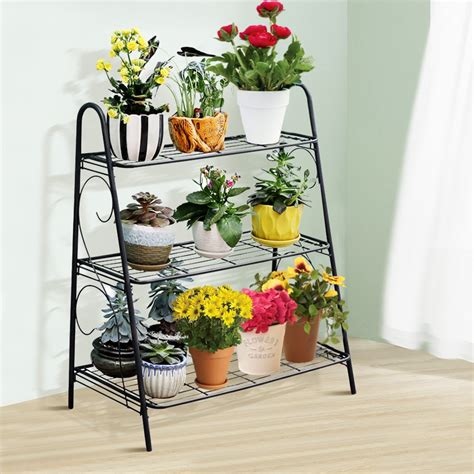 Outdoor Plant Display Tables