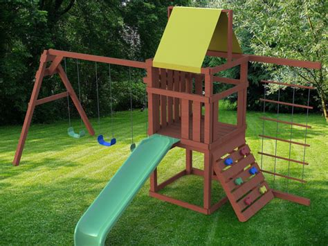 Outdoor Playset Plans Pdf