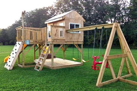 Outdoor Playsets Plans For Free