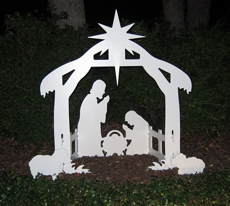 Outdoor Plywood Nativity Patterns