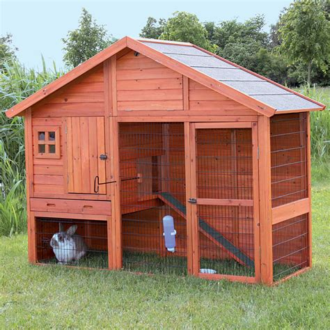 Outdoor Rabbit Hutch Plans For Multiple Rabbits Housing Connect
