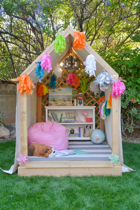 Outdoor Reading Nook Diy