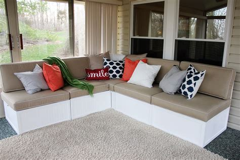 Outdoor Sectional With Storage Diy