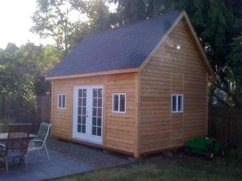 Outdoor Shed Plans 10x12