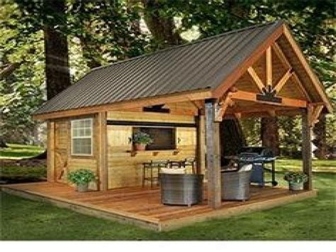 Outdoor Shed Plans Man Cave
