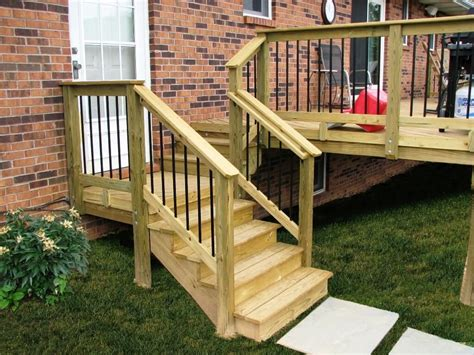 Outdoor Stair Plans Diagram