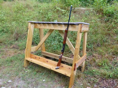 Outdoor Standing Gun Rack Plans