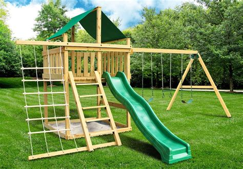 Outdoor Swing Sets Plans