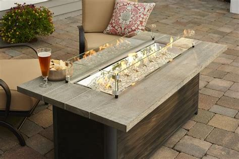 Outdoor Table Diy Fireplace