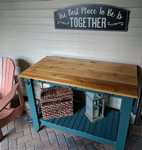 Outdoor Table Wood Diy Crafts