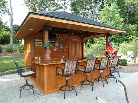 Outdoor Tiki Bar Plans Designs