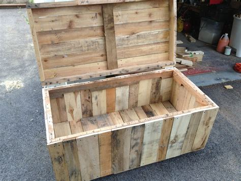 Outdoor Toy Box Diy Wooden