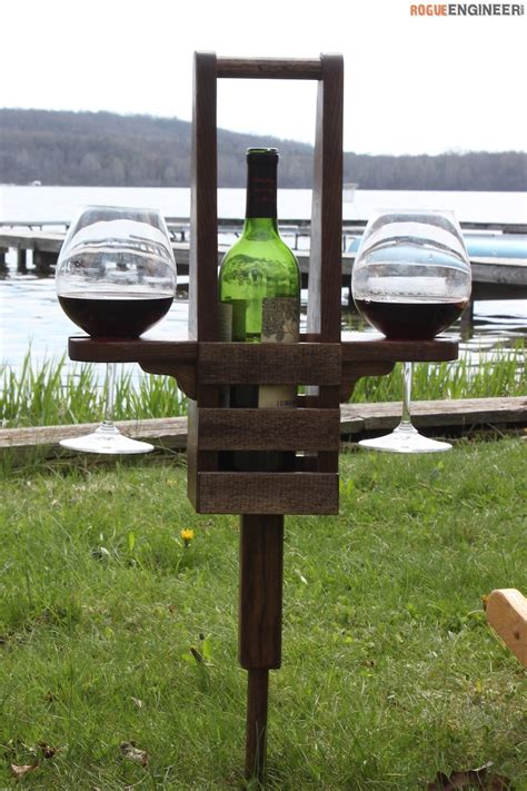 Outdoor Wine Caddy Plans For Houses