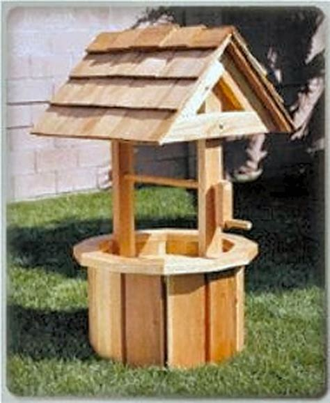 Outdoor Wishing Well Plans