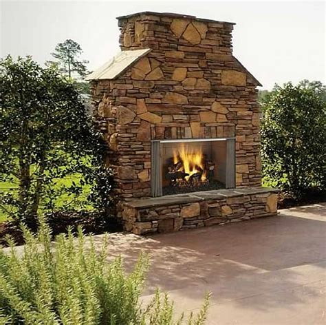 Outdoor Wood Burning Fireplace Diy Cardboard