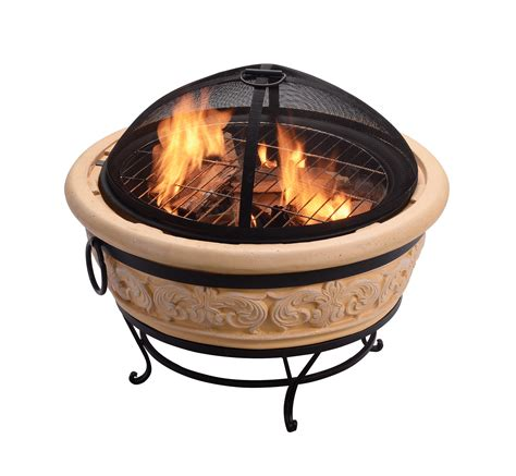 Outdoor Wood Burning Fireplace Youtube