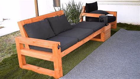 Outdoor Wood Couch Diy