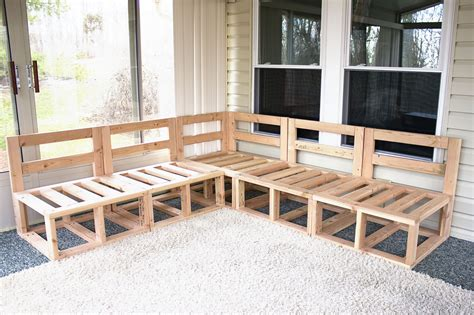 Outdoor Wood Couch Diy Plans